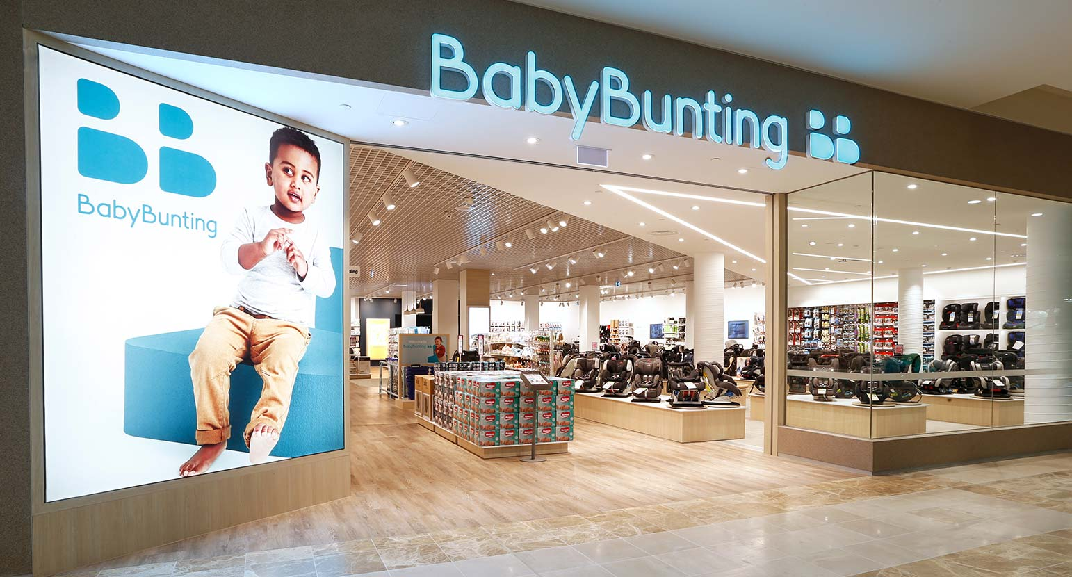 Baby Bunting Store new look
