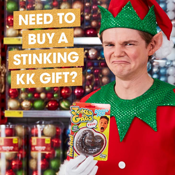TRS Social - Need to buy stinking kk gift?