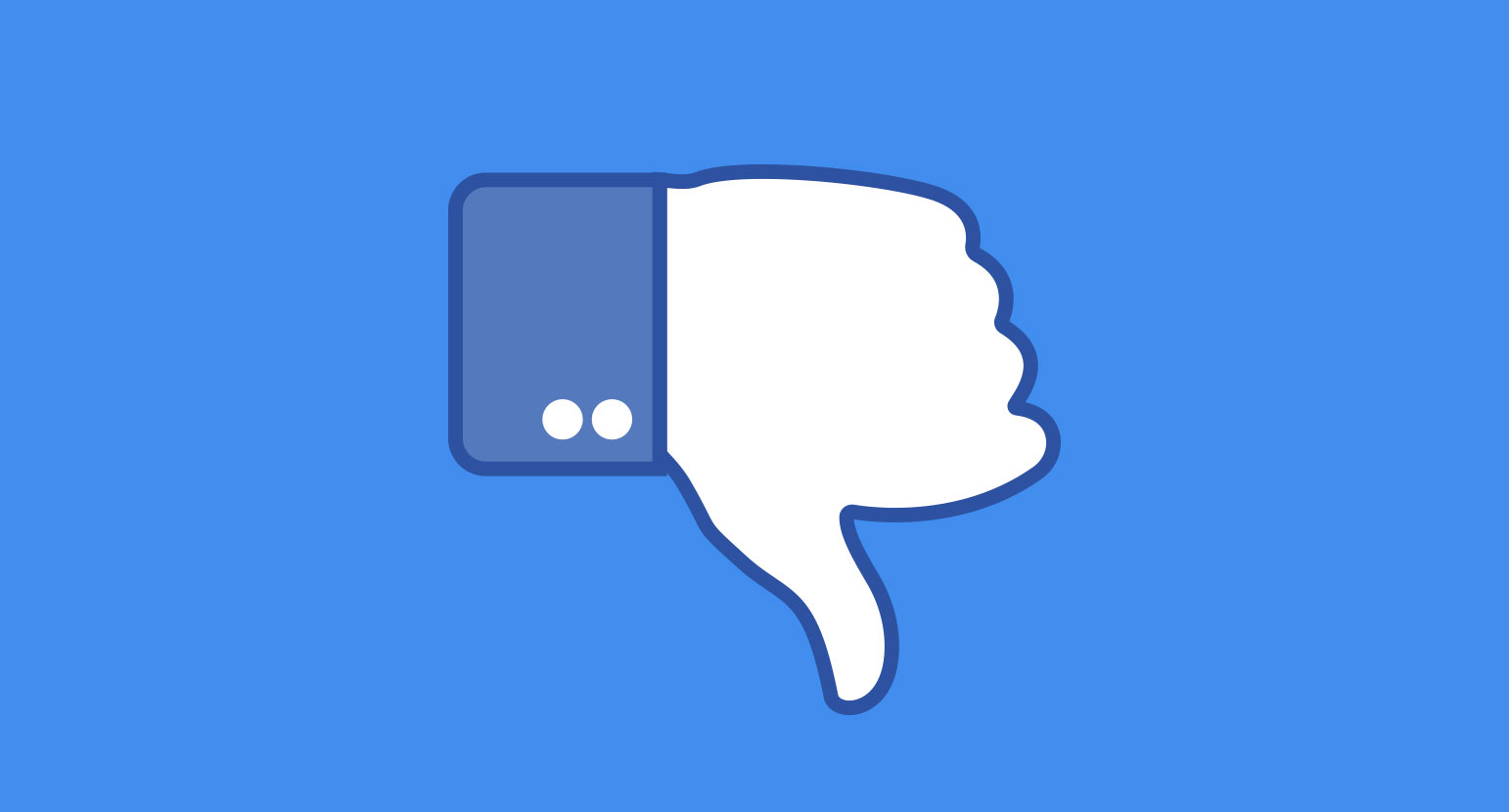 Facebook Like Icon Thumbs Down